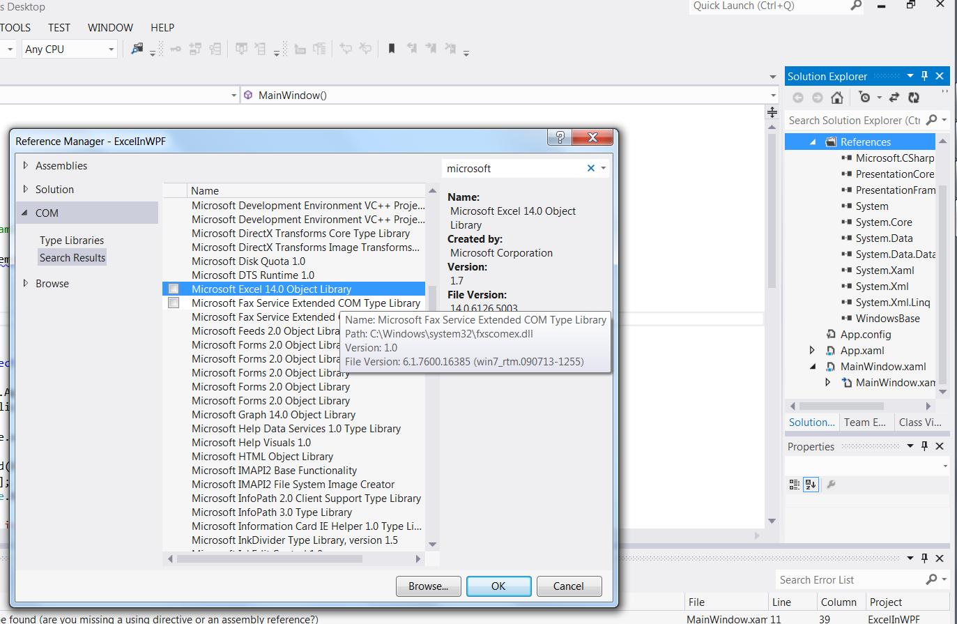 Workbooks workbook xmlns : C# – WPF – Generate an Excel file with WPF – Useful code