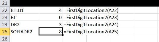 FirstDigitLocation