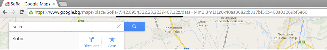 Java Script – Animation of a line in Google Maps – Useful code