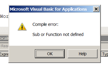 VBA – Working with Classes from the Immediate Window