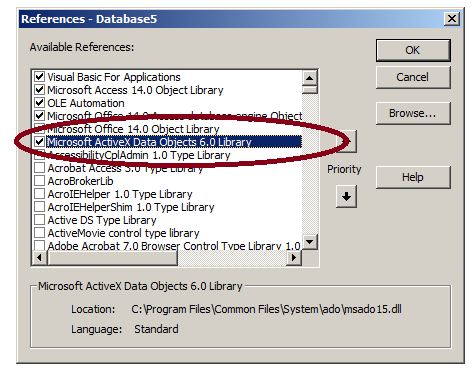 VBA – Populate data in Access table with VBA – Useful code
