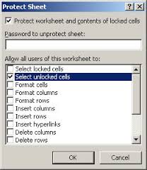 VBA – Locking and unlocking cells in a range – quickly – Useful code