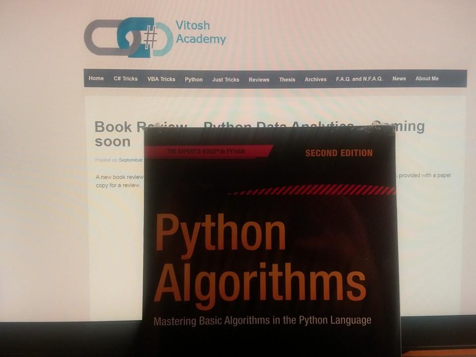 Book Review Python Algorithms Useful Code
