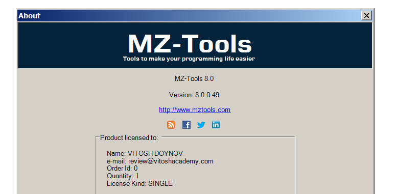 mz tools for vba � software review � useful code