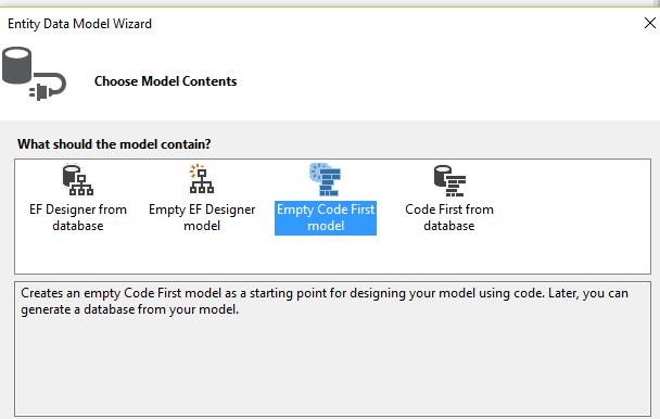 emptyCodeFirstModel