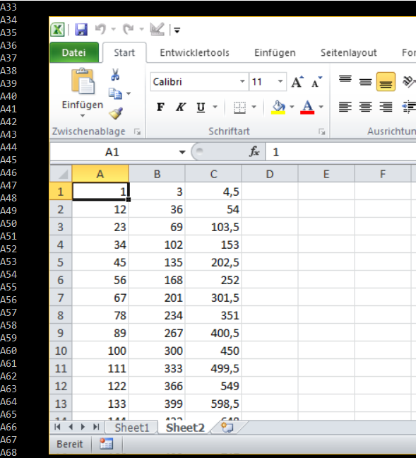 Python – Simple writing in Excel with XlsWriter – Useful code