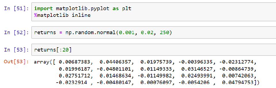 Using NumPy for Simulations – Useful code
