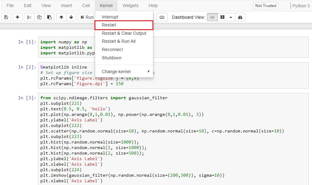 Python – Customizing PyLab using Style – Useful code